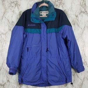 Columbia Boulder Ridge Blue 3 In 1 Coat M O30